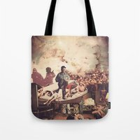 tv Tote Bags featuring 'Television' by Tim Green