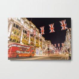Regent Street London Metal Print