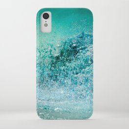 Turquoise Wave - Blue Water Scene iPhone Case