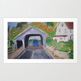 small england town Art Print