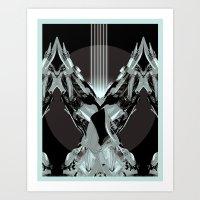CLAW.CHOMPS Art Print