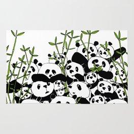 A Pandemonium of Pandas  Rug