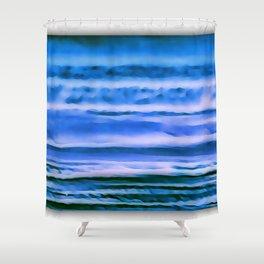 blueness Shower Curtain