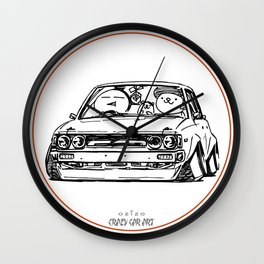 Crazy Car Art 0014 Wall Clock