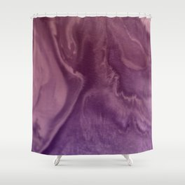 Watercolors purple and pink.Abstract Painting Shower Curtain