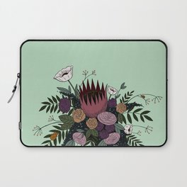 Beetles and Flowers Laptop Sleeve