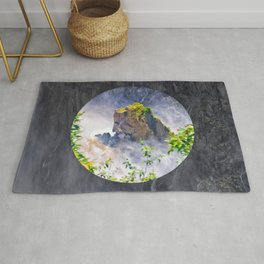 Rock in the falls Rug