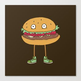 Food w/ Legs - No. 2 Canvas Print