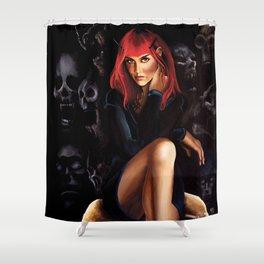 Shall we Talk? Shower Curtain