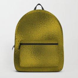 Gold Foil Pattern Backpack