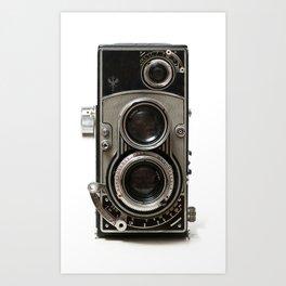 Vintage Camera 01 Art Print