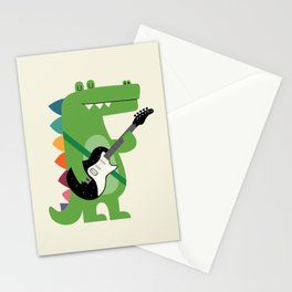 Croco Rock Stationery Cards