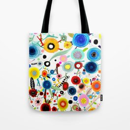 Rupydetequila whimsical floral art 2018 Tote Bag