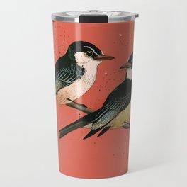 Pair of Phoebes Travel Mug