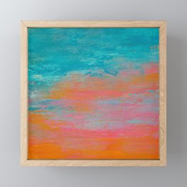 Changing Colors Framed Mini Art Print