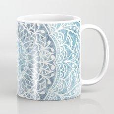 DEEP BLUE MANDALA Coffee Mug