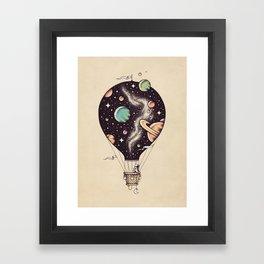 Interstellar Journey Framed Art Print