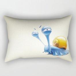 snail Rectangular Pillow