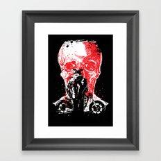 rebel from hell #1 Framed Art Print