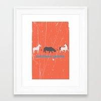 evolution Framed Art Prints featuring Evolution by Tony Vazquez