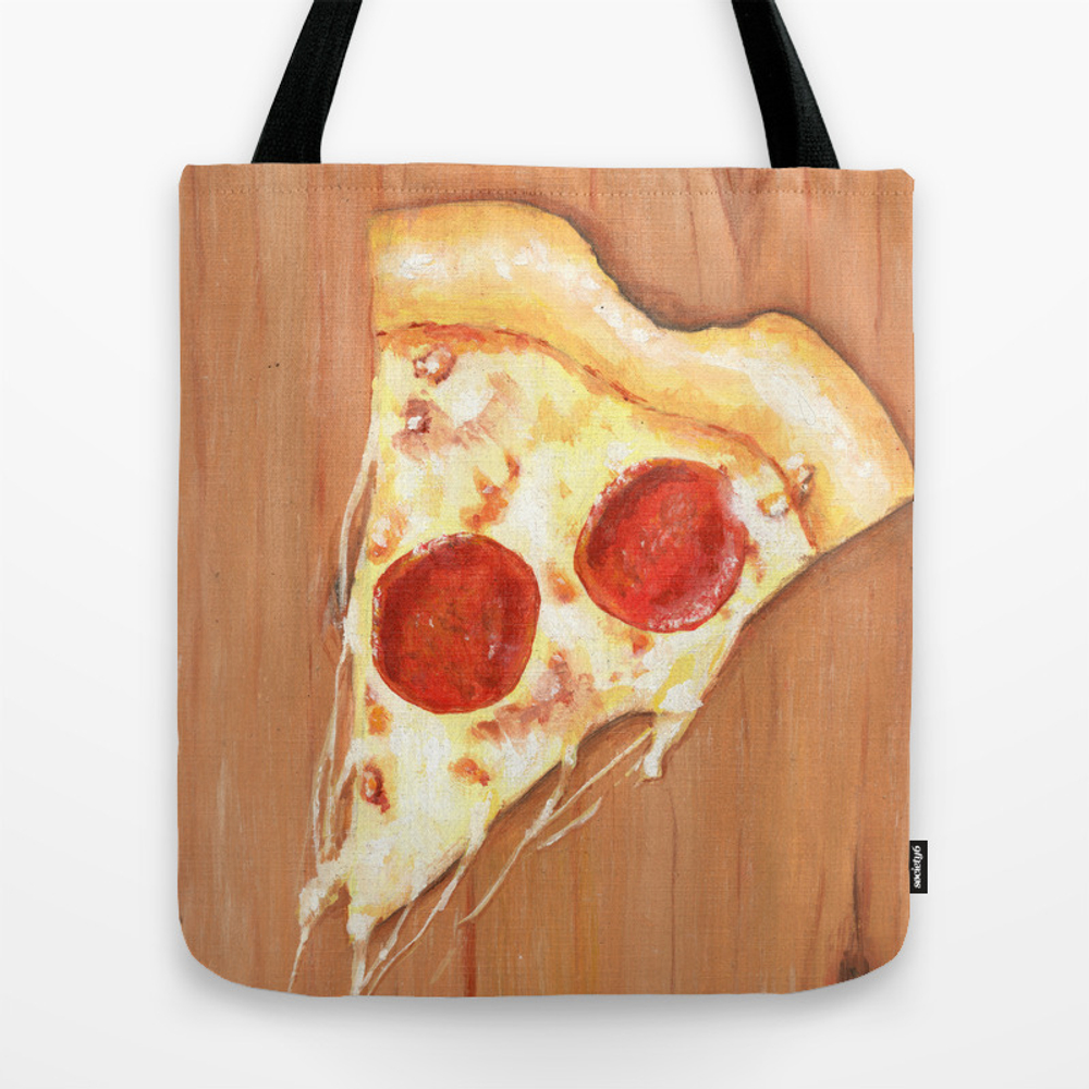 Pizza-heart Tote Purse by Brayanamis (TBG9622405) photo