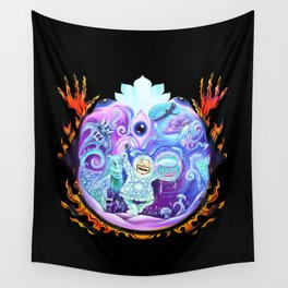 Rocking Psyberia Wall Tapestry
