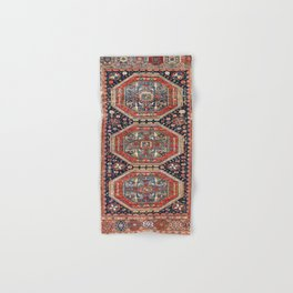 Kuba Sumakh Antique East Caucasus Rug Print Hand & Bath Towel