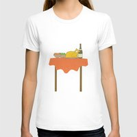 thanksgiving T-shirts featuring Thanksgiving by Suchita Isaac