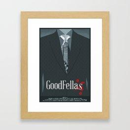 Goodfellas Movie Poster Framed Art Print