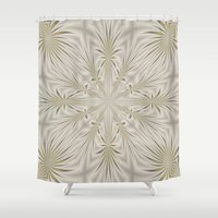 fireworks Shower Curtains featuring Fireworks by Lena Photo Art