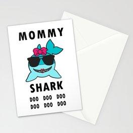 Mommy Shark Doo Doo Doo, Funny Mommy Shark Stationery Cards