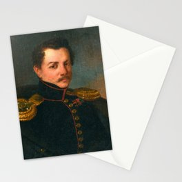 MICHAIL IVANOVITCH TEREBENEFF, A YOUNG OFFICER. Stationery Cards