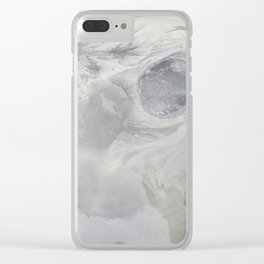 Shapes of Iceland Clear iPhone Case