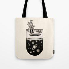 Winter Fishing Tote Bag