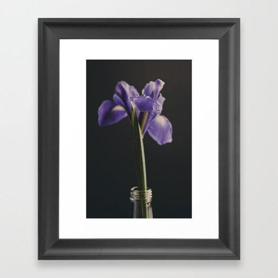 Iris Framed Art Print