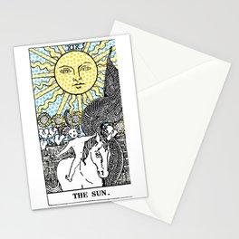 Modern Tarot Design - 19 The Sun Stationery Cards