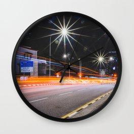 Long Exposure Wall Clock
