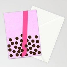 Taro Milk Tea Stationery Cards