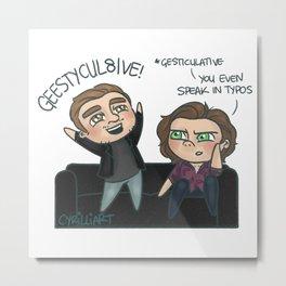 Geestycul8ive Metal Print