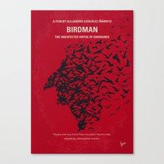 No604 My Birdman minimal movie poster Canvas Print