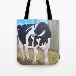 Cow - Farm Sanctuary Tote Bag