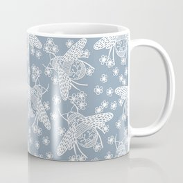 Papercut Bees Coffee Mug