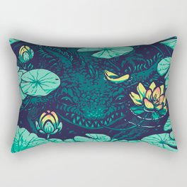 Lotus Eater Rectangular Pillow