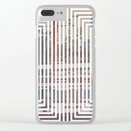 Waterlogged - lined Clear iPhone Case