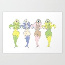 Femmes Art Print