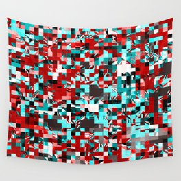 Pixelated 3 Wall Tapestry