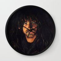 kili Wall Clocks featuring Kili heir of Durin by LucioL