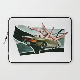 Muscle Magnet   Collage Laptop Sleeve