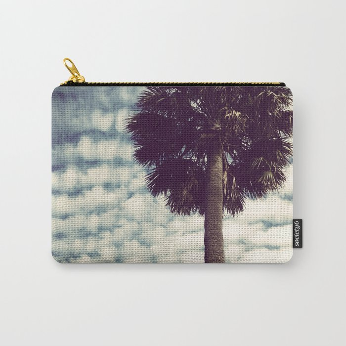 Charleston Palm Carry-All Pouch