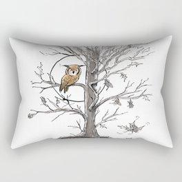 Autumn Owl Rectangular Pillow